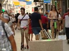 Los patinetes electricos se extienden por ciudades españolas sin legislación para ellos