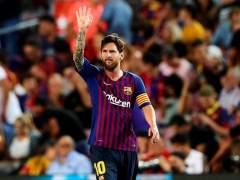 Messi resuelve los problemas del Barcelona