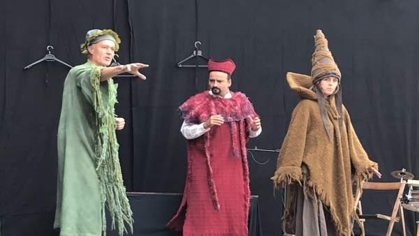 Grupo de teatro Los Navegantes.