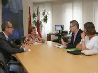 Real se reúne con representantes de ALCER Cantabria