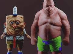 Las inquietantes versiones hiperrealistas de famosos personajes de dibujos animados
