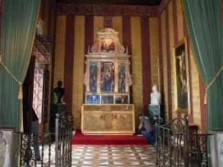 Restauración del altar del Palau de la Generalitat Valenciana