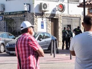 La policía investiga el suceso de Castrillo-Tejeriego (Valladolid)