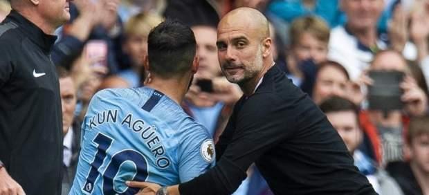 El City de Guardiola es una apisonadora: 'set' alHuddersfield y 'hat-trick' de Agüero