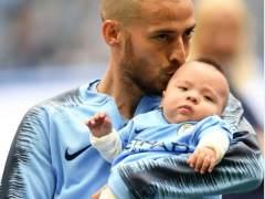 David Silva y su hijo Mateo: del calvario a la foto más esperada