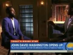 Así fue el corte del hijo de Denzel Washington al periodista que ignoró a su madre