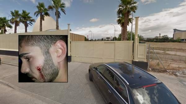 El primo de la actriz Andrea Duro, que fue agredido por besarse con su novio en la puerta de una discoteca