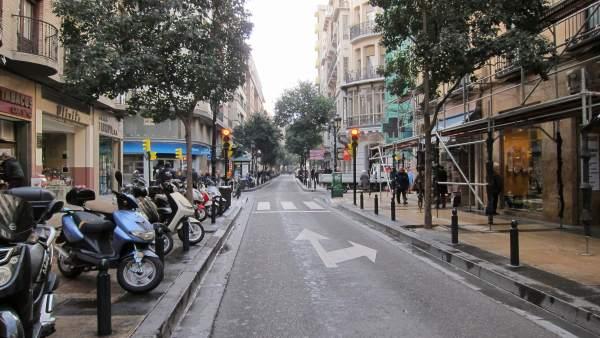 Calle Don Jaime I de Zaragoza.