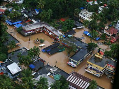 Inundaciones demoledoras