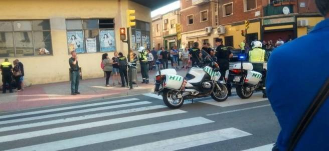 Atropello en las Casetas (Zaragoza)