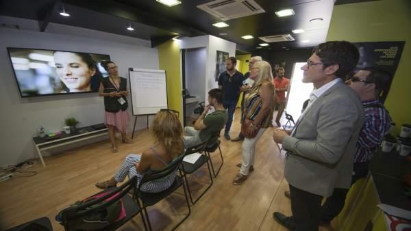 Presentación del roadshow de la ONCE por el empleo