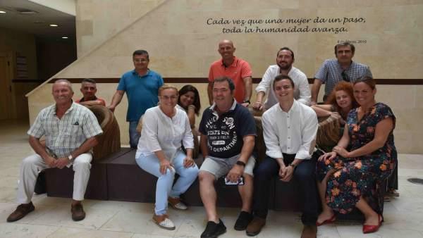 Pregoneros de la Feria del rosario de Fuengirola