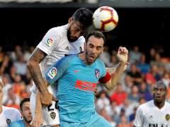 Lucha de gigantes entre Valencia y Atlético y un punto para cada uno