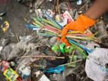 Pajitas de plástico