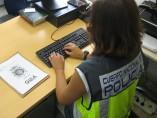 Policía Nacional ordenador operacion gula investigación agente