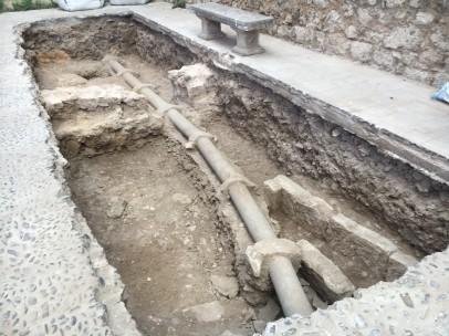 Necrópolis hallada en el Monasterio de San Juan