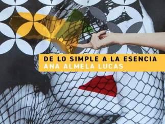 Cartel De La Exposición De La De La Artista Ciezana Ana Almela Lucas.