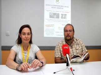 Natalia Briongos y Manuel Meijide