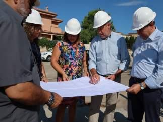 La vicepresidenta del Govern, Bel Busquets, visita obras en Marratxí