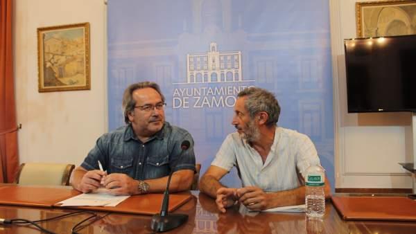 Francisco Guarido y Romualdo Fernández.