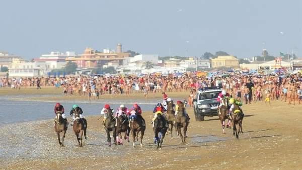 Carreras de caballos en Sanlúcar