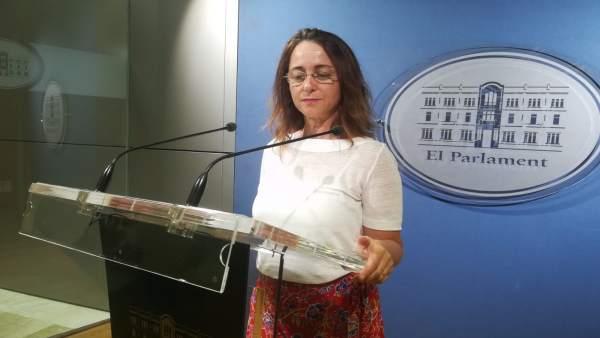 La diputada de Cs Olga Ballester