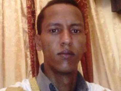 El joven bloguero Mohamed Cheij uld Mkaitir.
