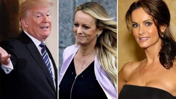 Donald Trump, Stormy Daniels y Karen McDougal