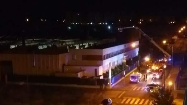 440ef7f0c Un derrame de amoniaco provoca un incendio en la empresa 'Toybe' en Logroño