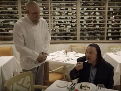 Sacha Baron Cohen crítico gastronómico Who is America
