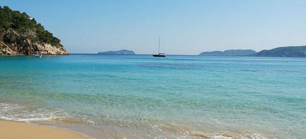 Cala San Vicente de Ibiza.