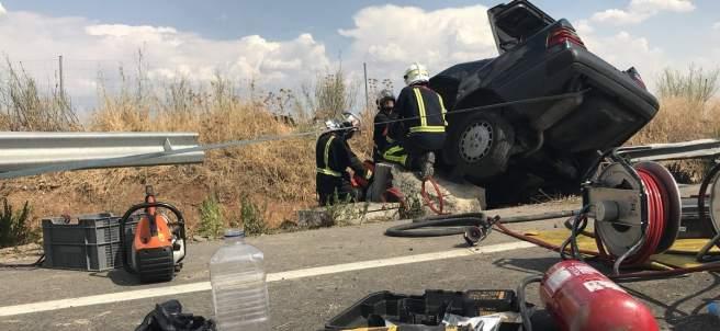 Accidente en la M115