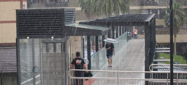 Lluvia en verano