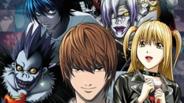 Versión anime de 'Death Note'.