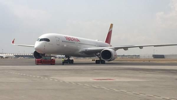 Avión A350-900 de Iberia