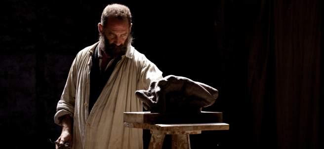 El actor francés Vincent Lindon da vida al maestro de la escultura Eugene Rodin