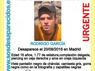 Menor desaparecido en San Sebastián de los Reyes
