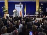 El Papa Francisco durante su viaje a Irlanda