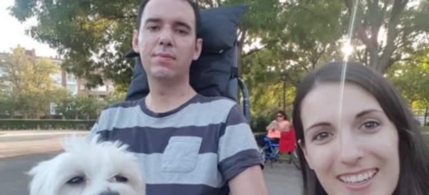 Marimar y Jorge, enfermo de ELA