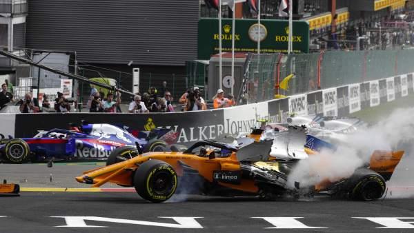 Accidente de Alonso