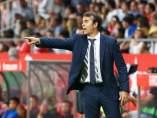 El entrenador del Real Madrid, Julen Lopetegui