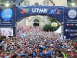La salida de la edición 2017 de la UTMB