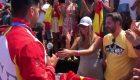 Cristian Toro pide matrimonio a su novia por sorpresa