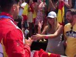 Cristian Toro pide matrimonio a su novia