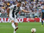 Cristiano Ronaldo, con la camiseta de la Juventus.