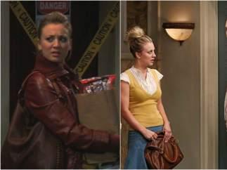 Penny siempre lleva el mismo bolso