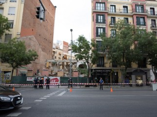 Desalojo edificio calle Alcalá B
