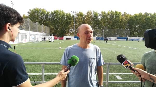 El portavoz de CHA en el Ayuntamiento de Zaragoza, Carmelo Asensio.