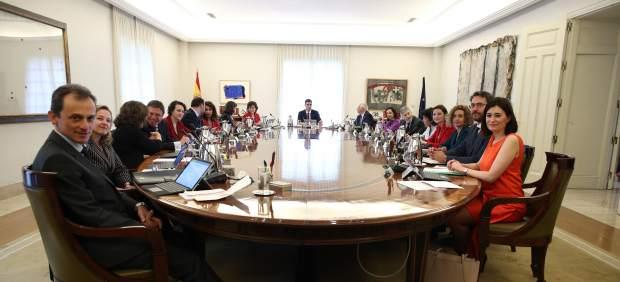 Pedro Sánchez, en una imagen de archivo durante un Consejo de Ministros