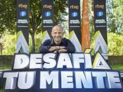 Antonio Lobato, en la presentación de la nueva temporada de 'Desafía tu mente'.